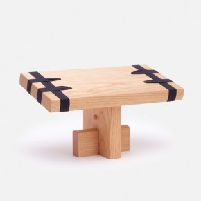 EDO meditation stool, natural oiled finish, by DAIKUKAI